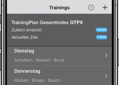 TrainingPlan